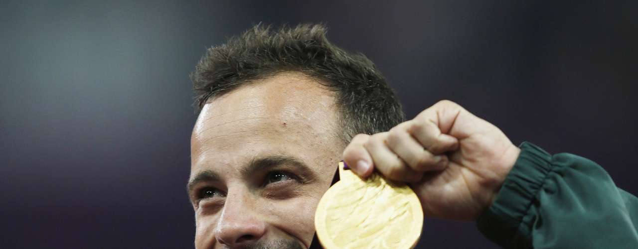 It is the South African's first individual gold medal at the Games.