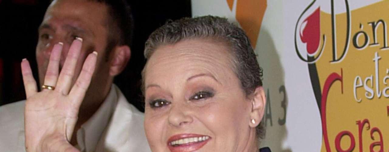 María de los Ángeles de las Heras Ortiz era el nombre verdadero de la española más mexicana: Rocío Dúrcal.
