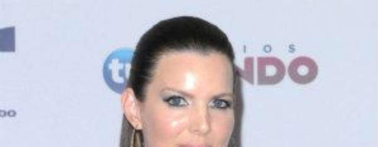La actriz colombiana de novelas como \