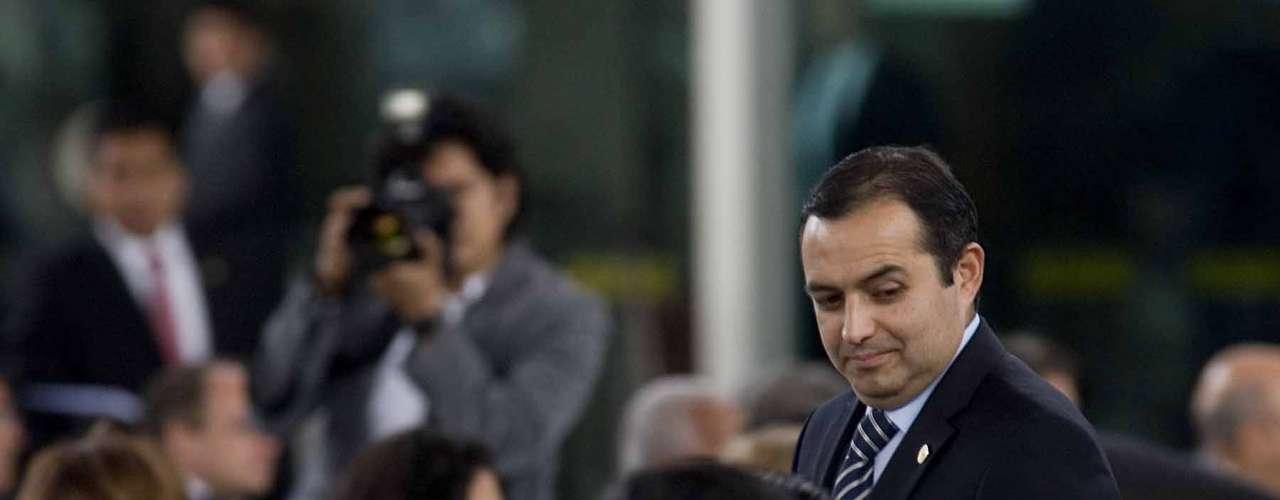 Ernesto Cordero, Coordinador del Grupo Parlamentario del PAN, Presidente de la Mesa Directiva del Senado.