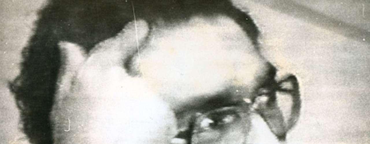 Imagen de Guzmán mientras hablaba con Antonio Ketín Vidal durante su captura