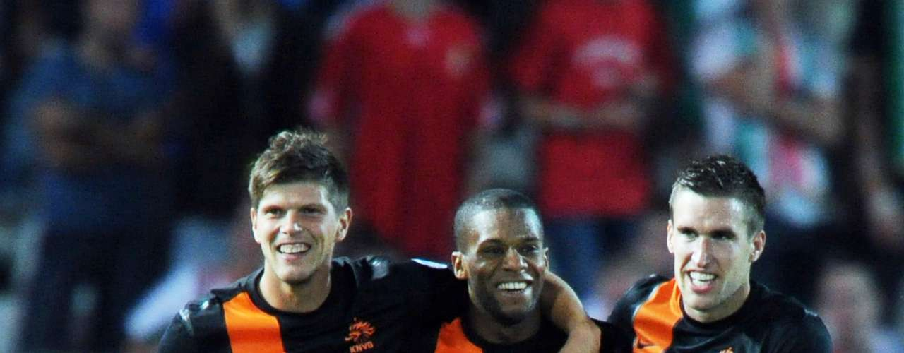Jeremain Lens scored twice in Netherlands' 4-1 win over Hungary