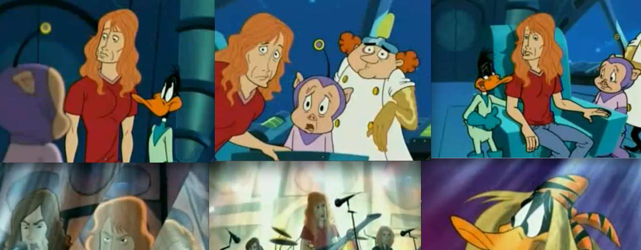 Dave Mustaine y su banda Megadeth participaron en un episodio de la clásica serie animada el \