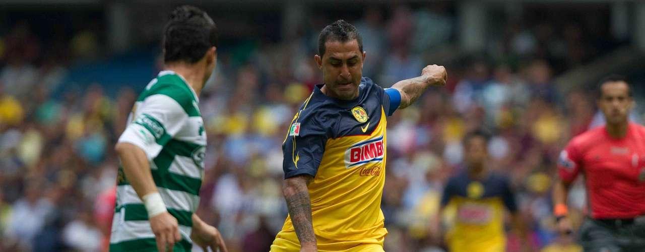 Sábado 15 de septiembre - América recibe a Santos en la cancha del Estadio Azteca en la Jornada 8 de la Liga MX