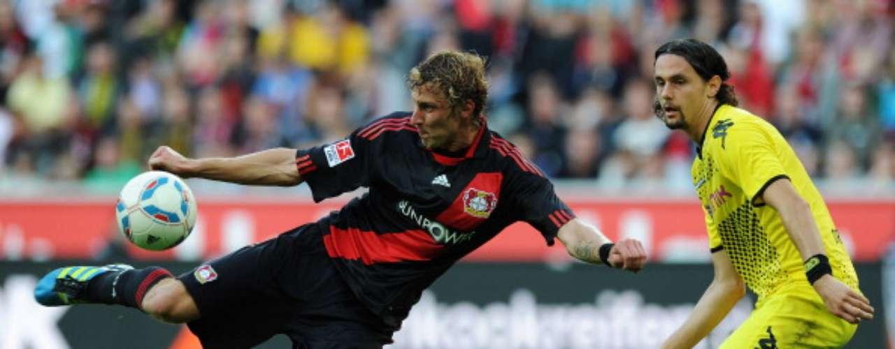 Sábado 15 de septiembre - El campeón de Alemania Borussia Dortmund recibe al Bayer Leverkusen