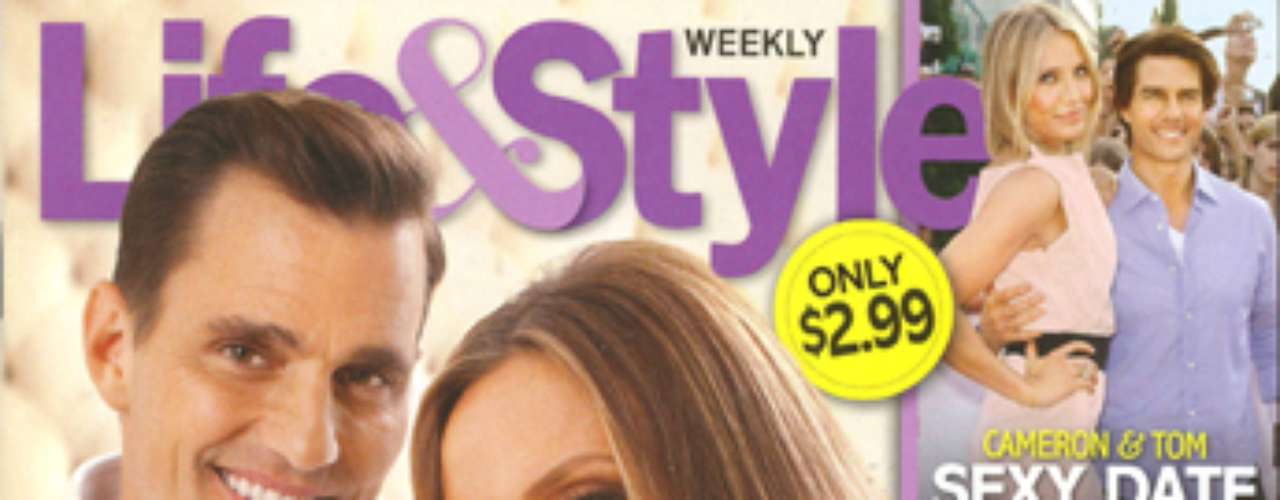 Well, we don't have to tell you much about this issue.  It's got Bill and Giuliana Rancic's oh-so-cute bay-beh, bay-beh!  Congratulations to the couple and buy it if you want to see pics of the little rugrat.  =)