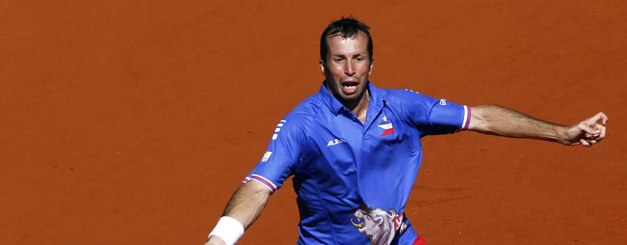 Stepanek said that despite claims by del Potrol that he was injured, it appeared that the Argentine was as healthy as ever. REUTERS/Marcos Brindicci