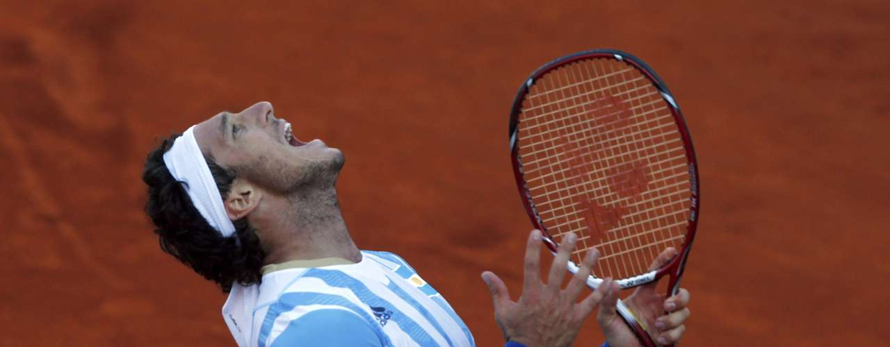 Monaco fought back to win the second and third sets and had a 4-2 advantage in the fourth but couldn't close out the match. REUTERS/Marcos Brindicci