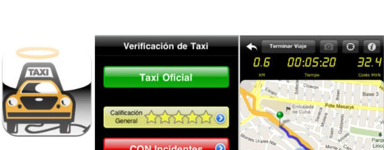 Esta app te hará sentir más seguro en tu próximo viaje en taxi.