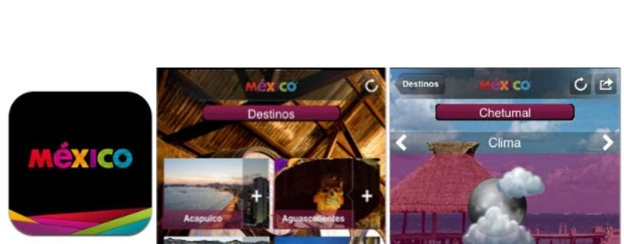 ¿Cuántos lugares te faltan conocer en México? Esta app te dará una idea de todos los destinos que puedes recorrer y te dará reseñas de la riqueza cultural e histórica de cada uno de ellos.