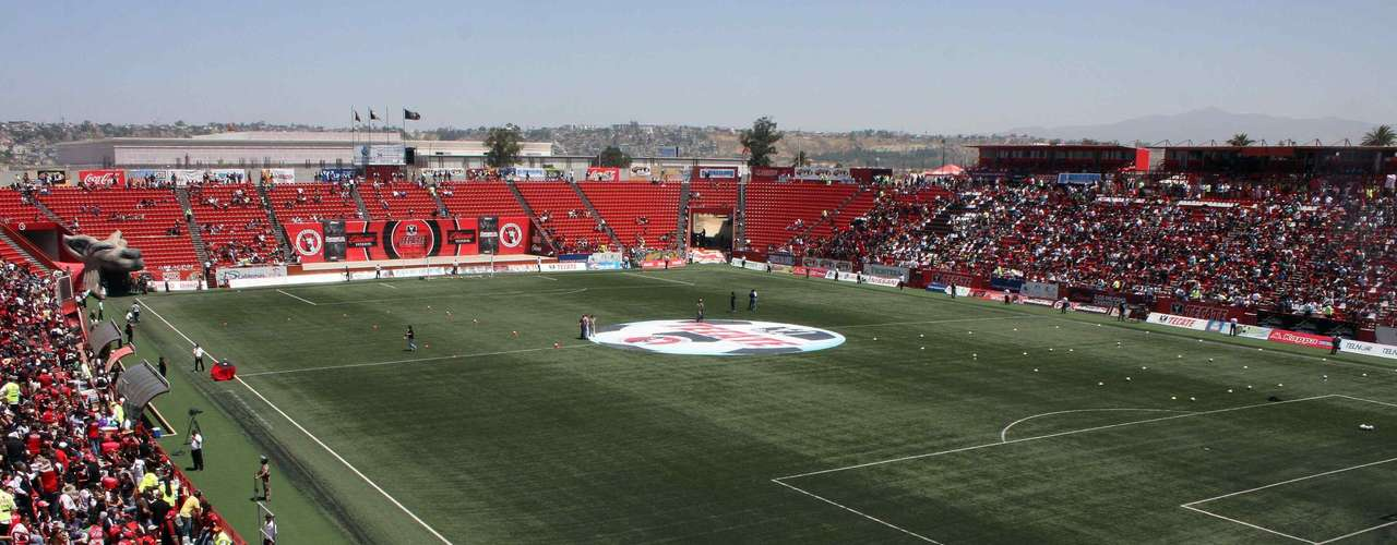 CALIENTE Inaugurated in November 2007, it currently holds 21,000 fans to be extended to 33,000 in the latest refurbishments. The stadium has become an icon in Tijuana, with Mexicans from San Diego and other US cities traveling to the stadium to watch Xolos.