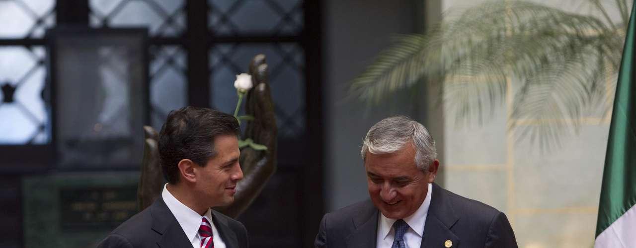 La visita de Peña Nieto a Guatemala es la primera escala que realiza como parte de la gira de trabajo de una semana que lo llevará por Colombia, Brasil, Chile, Argentina y Perú.