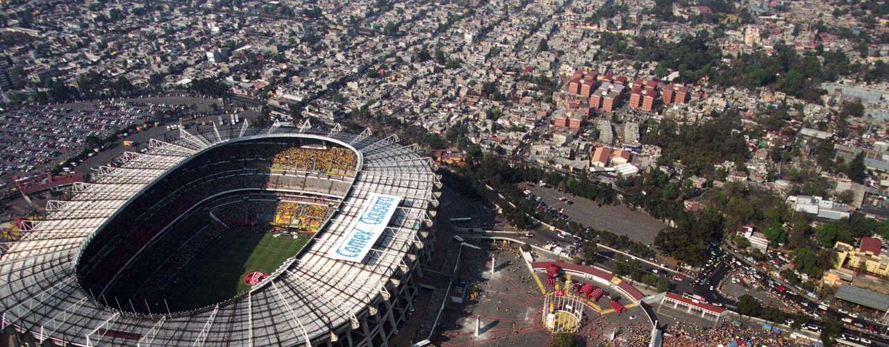 Estadio Azteca: It was inaugurated on May 29, 19996 with a match between America and Torino. Currently, it has a capacity for 105,000 fans and has held great events including World Cups, NFL Games, and concerts from huge stars like Paul McCartney, Michael Jackson and U2.