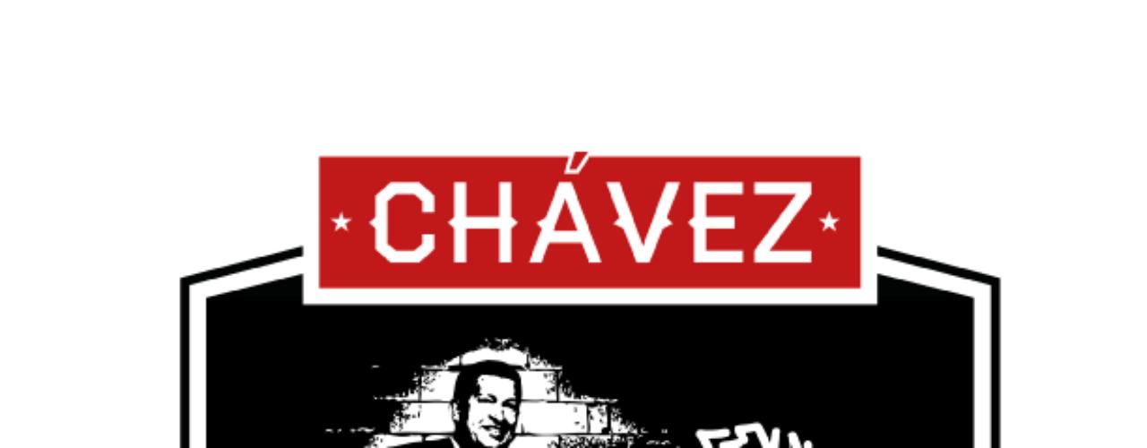 Las imágenes hacen parte de la campaña que busca la tercera reeleción consecutiva del actual presidente de Venezuela, Hugo Chávez.