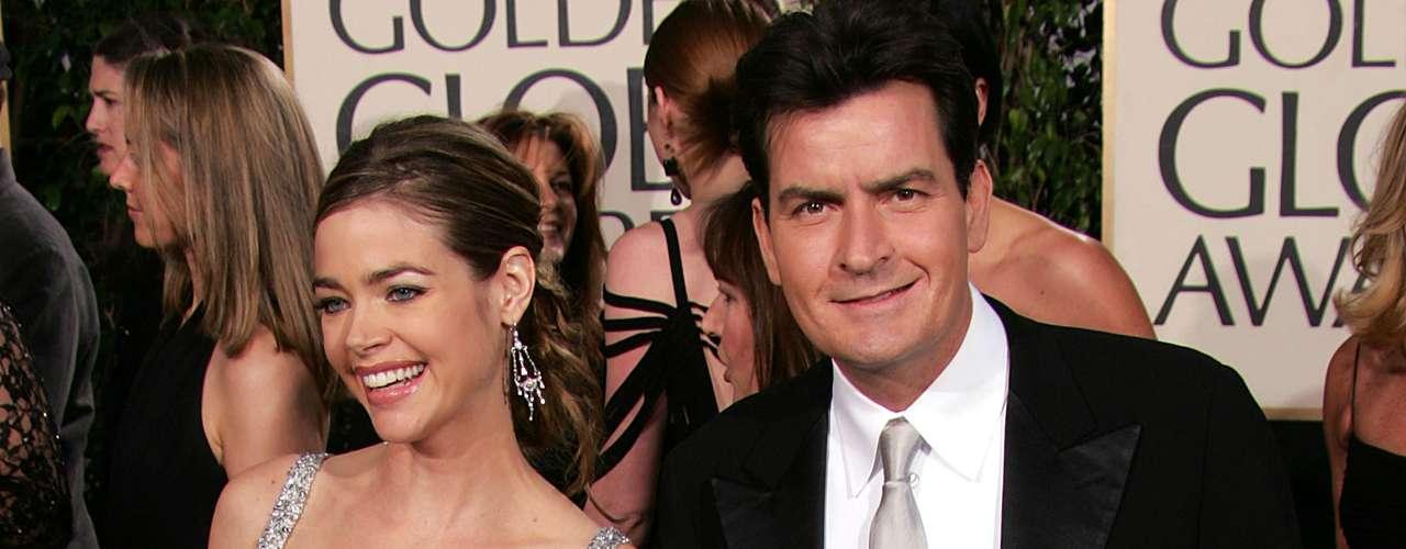 Denise Richards, quien estuvo casada con Charlie Sheen desde 2002 y hasta 2006, sufrió varios abusos e infidelidades del actor de 'Two and a Half Men', con quien procreó dos hijas. Luego de un ríspido divorcio, al final los dos parece que se llevan bien y han dejado atrás sus diferencias amorosas.