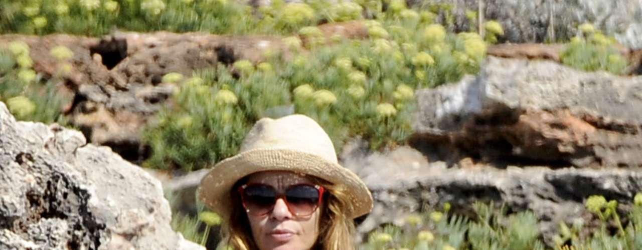 Las playas de Menorca han sido testigos de otros 'topless' que han terminado en algunas revistas, como este de la actriz María Adánez en 2010.
