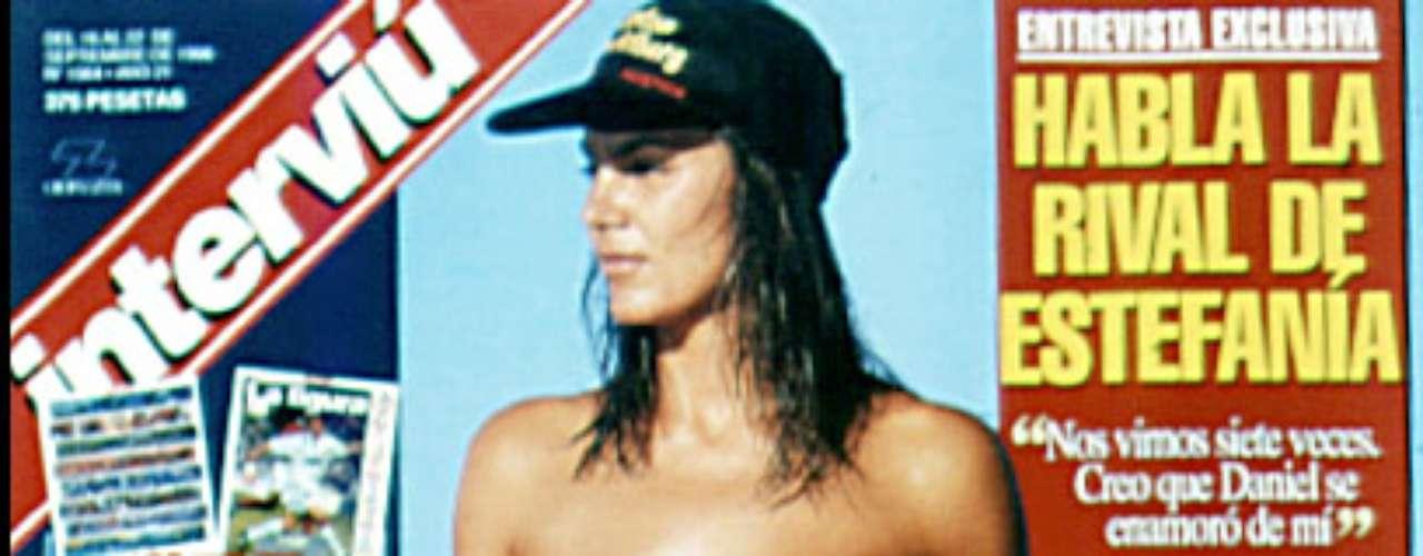 ¿Posado o pactado? Esta portada de la modelo Mar Flores causó un gran revuelo en su época.