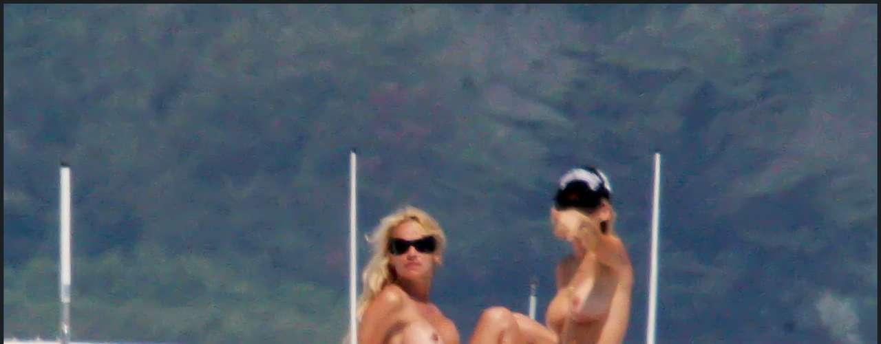 La actriz Pamela Anderson tampoco ha logrado durante estos años librarse de las cámaras indiscretas.