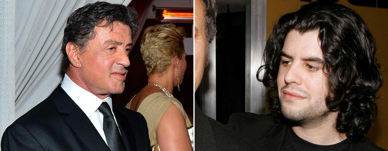 Sage, el hijo de Sylvester Stallone, fue hallado muerto en su casa de Los Ángeles el 13 de julio de 2012. Al principio se rumoró que el fallecimiento se debió a una sobredosis, pero el forense confirmó que la muerte ocurrió debido a un infarto ocasionado por un padecimiento cardiaco. Tenía 36 años de edad.