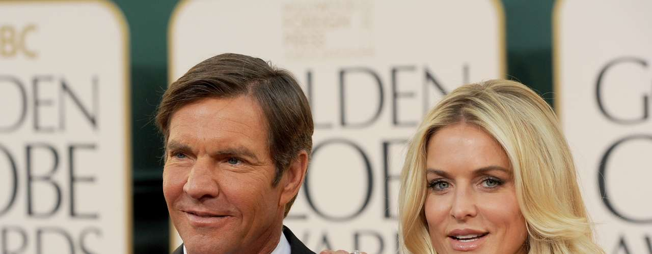 Dennis Quaid y su mujer, Kimberly Buffington alquilaron un vientre para tener a sus mellizos: Thomas Boone y a Zoe Grace.
