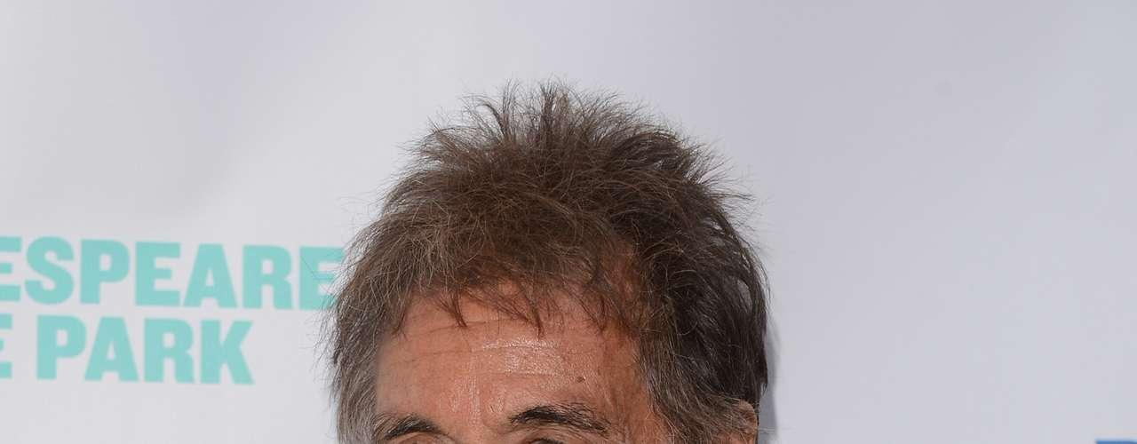 Al Pacino, el actor de 'El Padrino' tuvo mellizos, Anton y Olivia con la actriz Beverly D'Angelo.