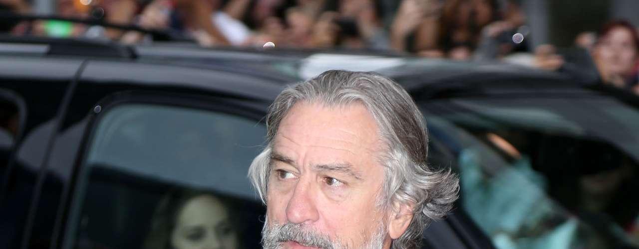 Robert de Niro tuvo mellizos con la modelo Touky Smith