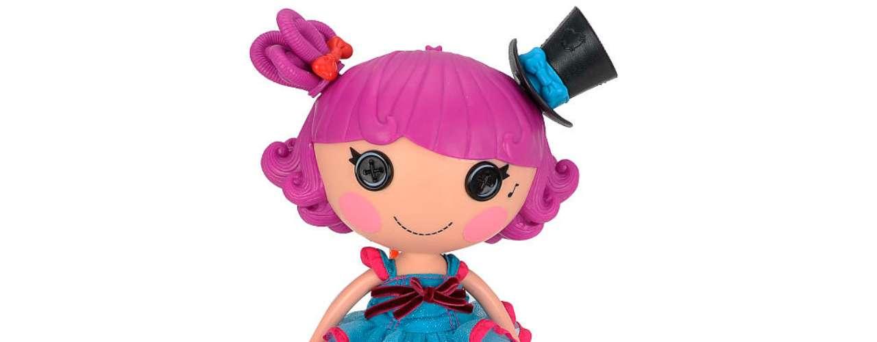 Lalaloopsy Silly Hair Stars Harmony B. Sharp from MGA Entertainment® - 70 dólares. La muñeca canta, baila y sacude su cabello al ritmo de la música. Sus dueñas pueden peinarla, ponerle sombrero y cambiarle el vestuario.