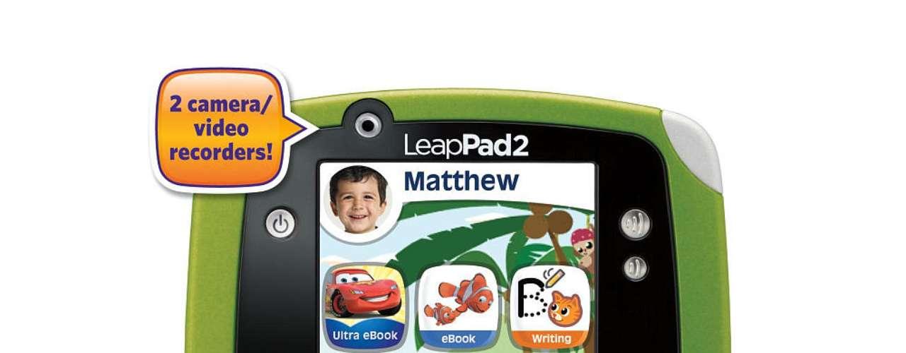 Una de las tabletas para chicos más esperada de la temporada. LeapPad 2 es una herramienta de diversión y de entretenimiento recomendada por padres. Cuesta 100 dólares.
