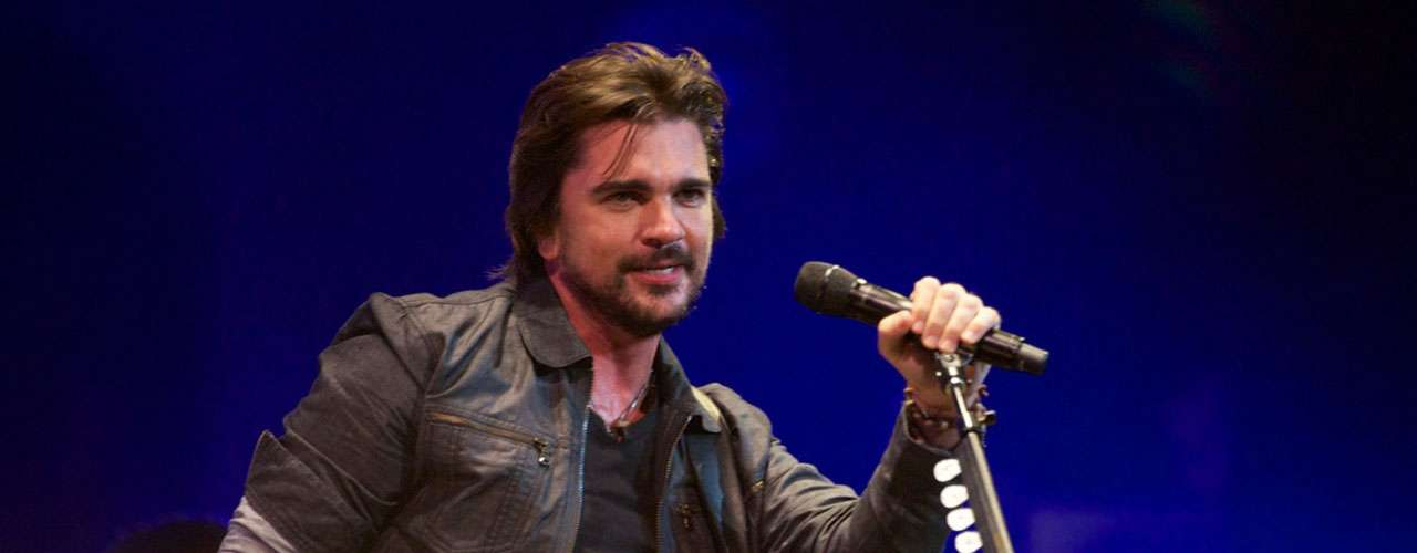 Colombian pop rocker Juanes.