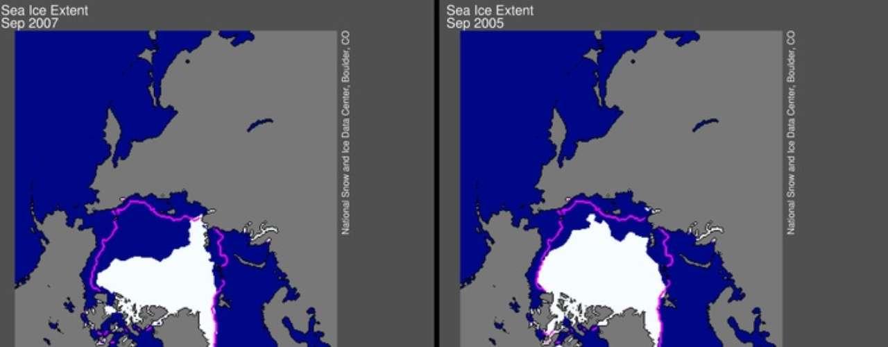 Los efectos del cambio climático se están sintiendo con mayor intensidad en el Ártico, donde el deshielo crece entre dos y tres veces más rápido que el promedio mundial, aunque los especialistas destacaron que lo que sucede en los polos es un \