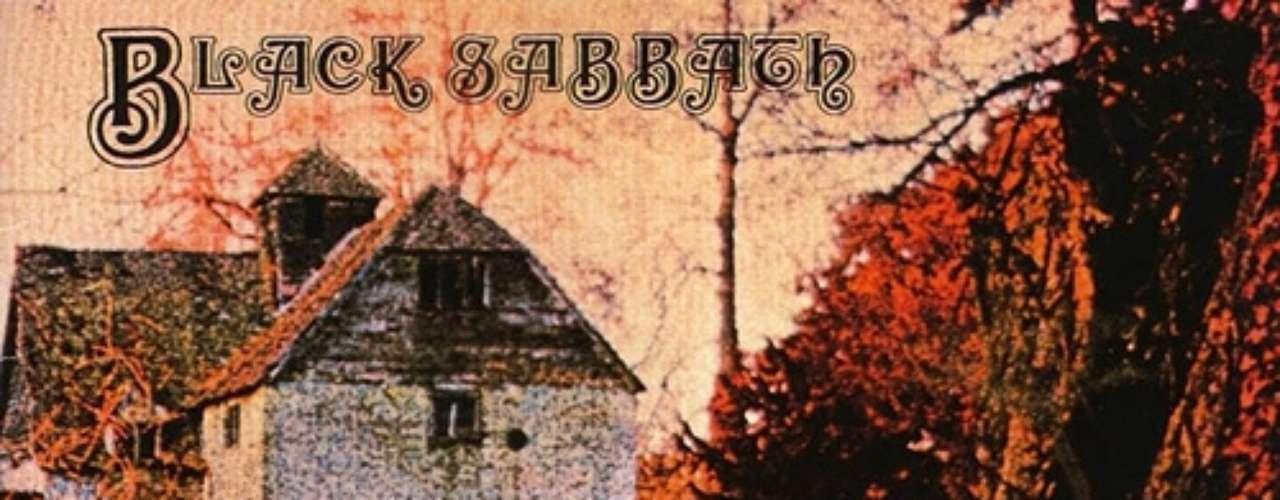 3. Black Sabbath - 'Black Sabbat'. Primer álbum de la banda de Birmingham publicado el 13 de febrero de 1970. Llegó a los top 10 británicos, donde permaneció por tres meses. Pese a que fue grabado en solo dos días y con un presupuesto de 600 libras, a lo que hay que sumarle la mala acogida que le dio la crítica, logró llegar al puesto 8 del chart británico, gozando de bastante popularidad entre el público más joven.