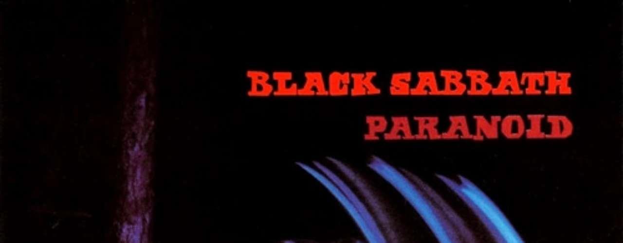 2. Black Sabbath - 'Paranoid'. Originariamente se iba a llamar 'War Pigs', pero debido a presiones de la discográfica se cambió el nombre a 'Paranoid'. Fue grabado y publicado en 1970, constituyendo el primer éxito de la banda, y hasta nuestros días es considerado un disco de culto, gracias a canciones como 'War Pigs', 'Paranoid', 'Iron Man' y 'Fairies Wear Boots'.