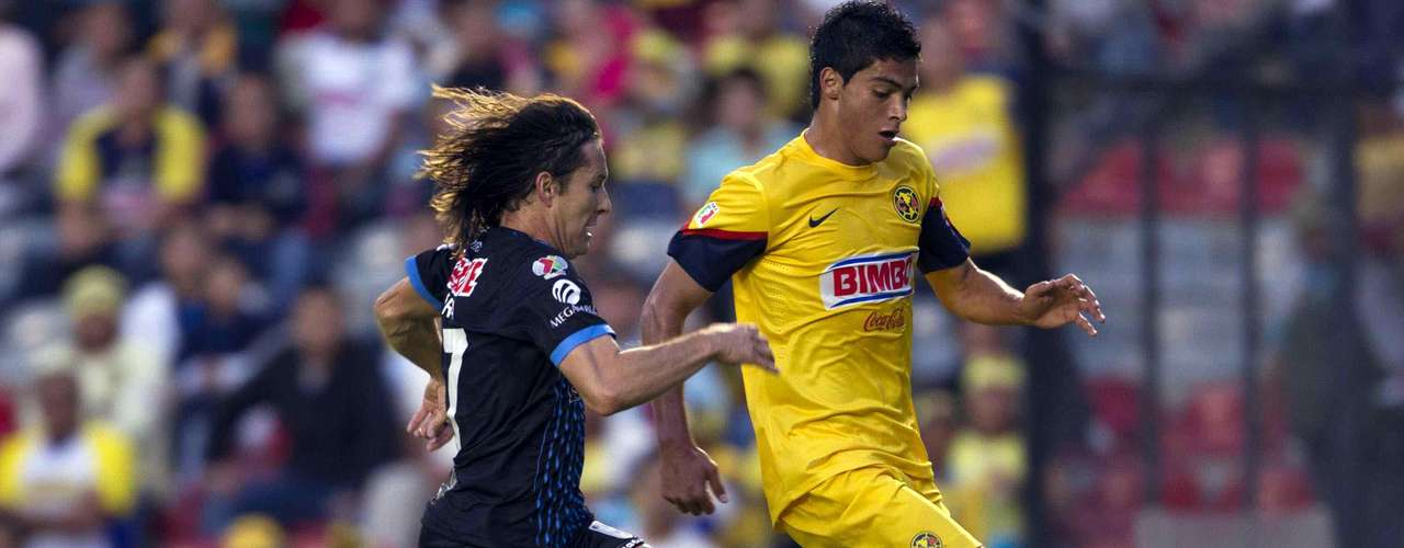 Daniel Alcantar and Raul Jimenez had a great matchup.