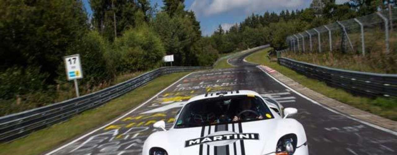 Fotos Porsche 918 Spyder en Nurburgring