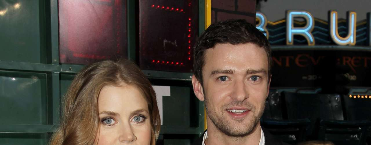 Amy Adams and Justin Timberlake were looking mighty good together at the 'Trouble With The Curve' premiere. The pair was joined by fellow co-stars Clint Eastwood and John Goodman.