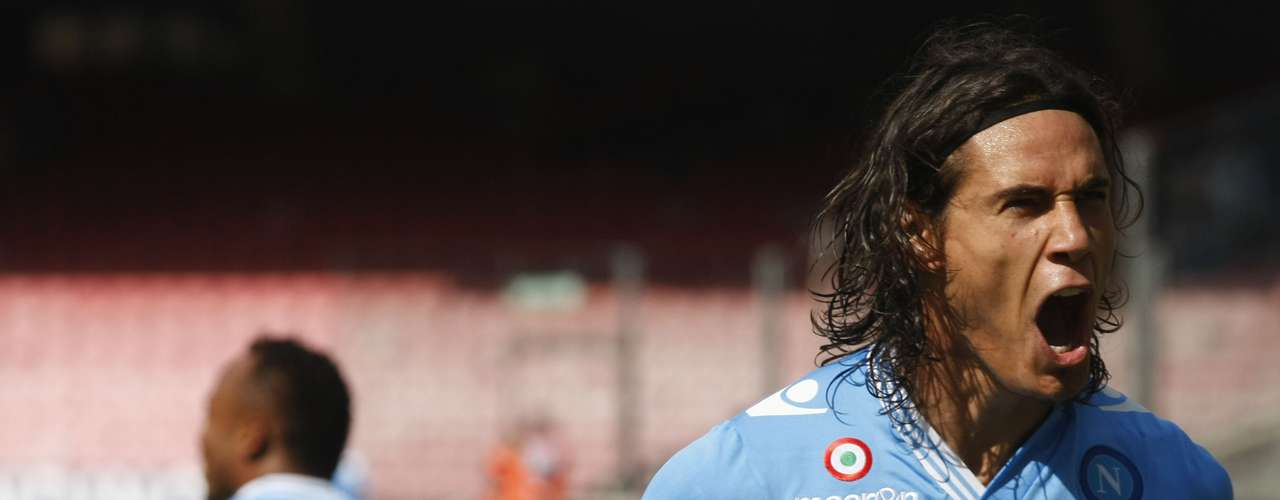Another Uruguayan, Edinson Cavani, looks to provide the goals that will help Napoli advance in the competition.