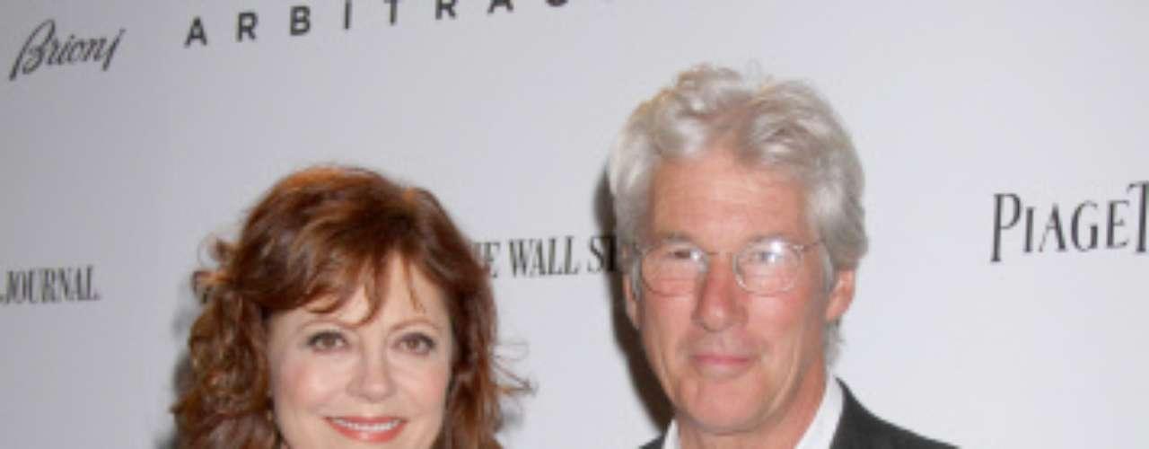 Richard Gere protagoniza junto a Susan Sarandon 'El fraude', la película que abrirá el viernes el 60 Festival de Cine de San Sebastián. El actor llegará, previsiblemente, a última hora del jueves.