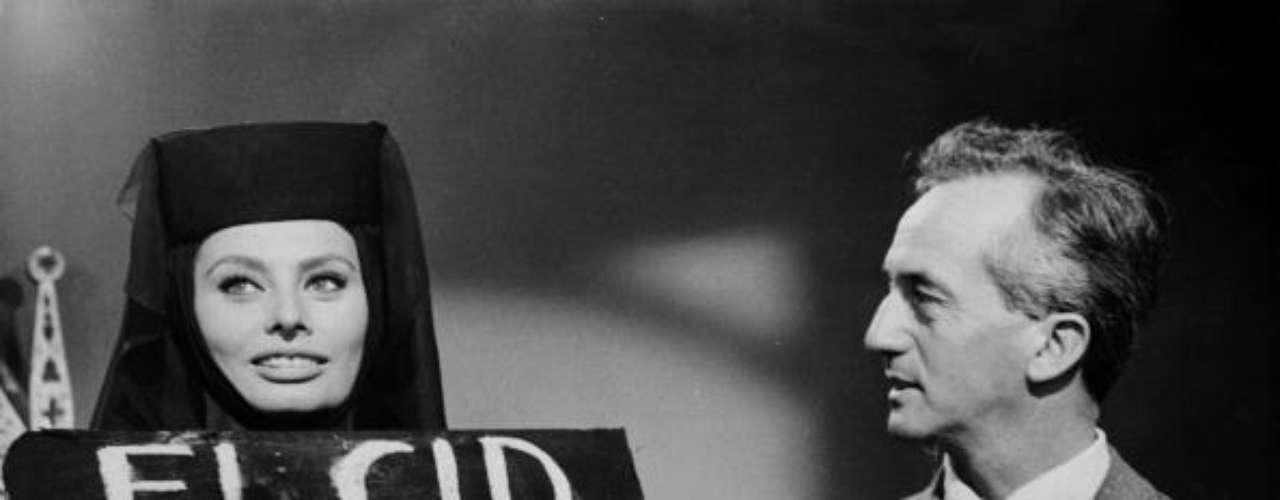 Anthony Mann la dirigio en 'El Cid', el drama épico romántico sobre el caballero medieval español, que protagonizó junto a Charlton Heston. Este film la trajo a España, a Burgos y Valencia, entre otras localizaciones.