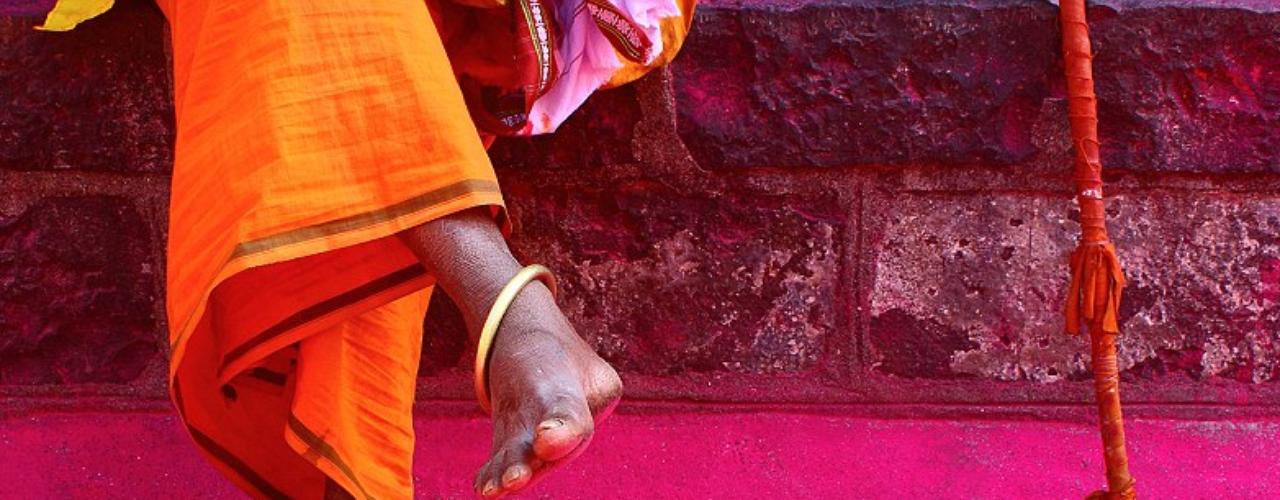 Esta fotografía, de Aditya Waikul, fue hecha en un templo dedicado a Jyotiba, en Maharashtra, India.