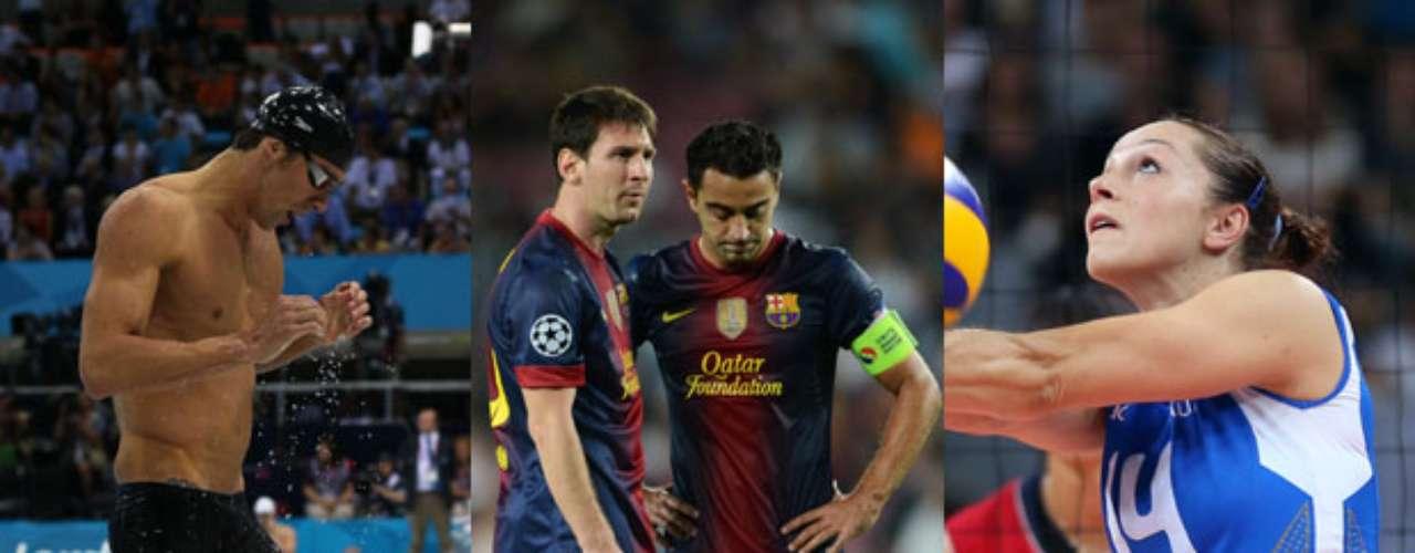 Los diez deportes más practicados en el mundo, son encabezados por la natación, el futbol y el voleibol. Le siguen el Basquetbol, el Tenis, Bádmington, Beisbol, Handball, Hockey, y en último lugar el Rugby.