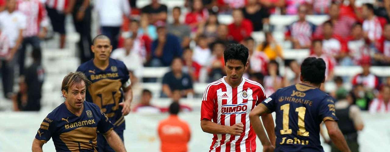 23 de septiembre - Pumas busca terminar con la maldición de 30 años sin poder vencer a Chivas en Guadalajara