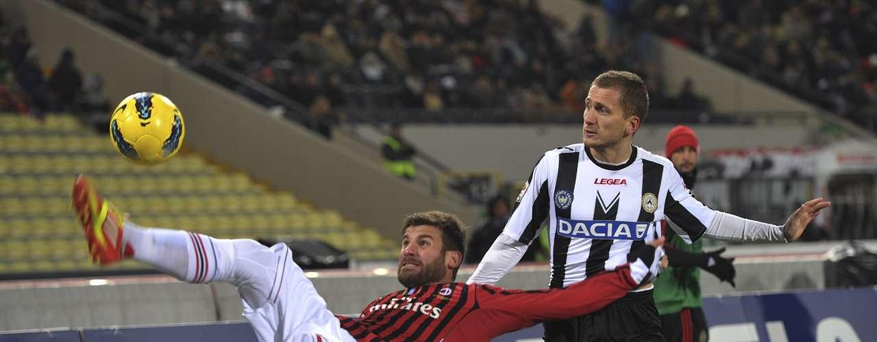 23 de septiembre - Milán visita el campo del Udinese con la misión de salir con vida