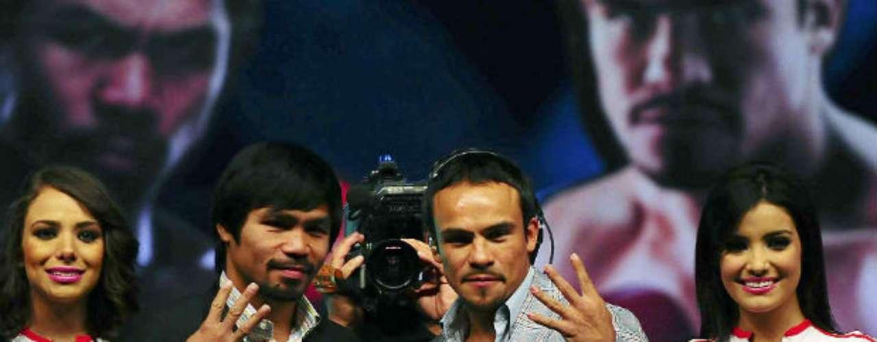 Tanto el filipino como el mexicano prometen que para no dejar dudas, en la cuarta batalla habrá nocaut.