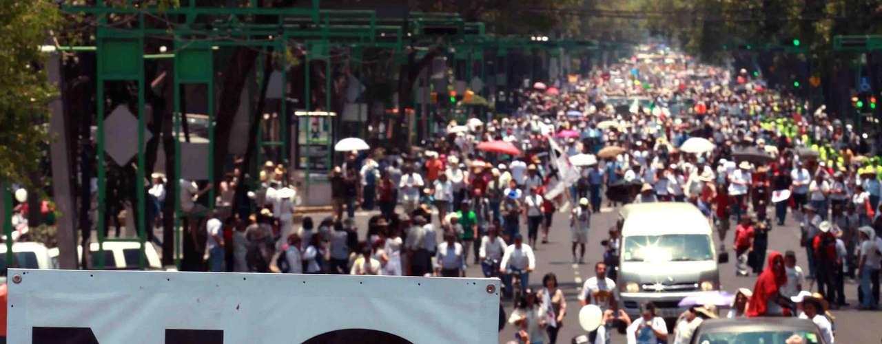 Las cifras oficiales del gobierno de Calderón reportan 47 mil 515 víctimas de la violencia generada por la batalla contra el narco hasta septiembre del 2011.