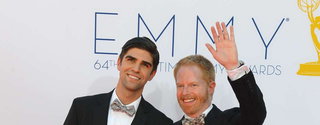Recently engaged Justin Mikita and Jesse Tyler Ferguson from 'Modern Family.'