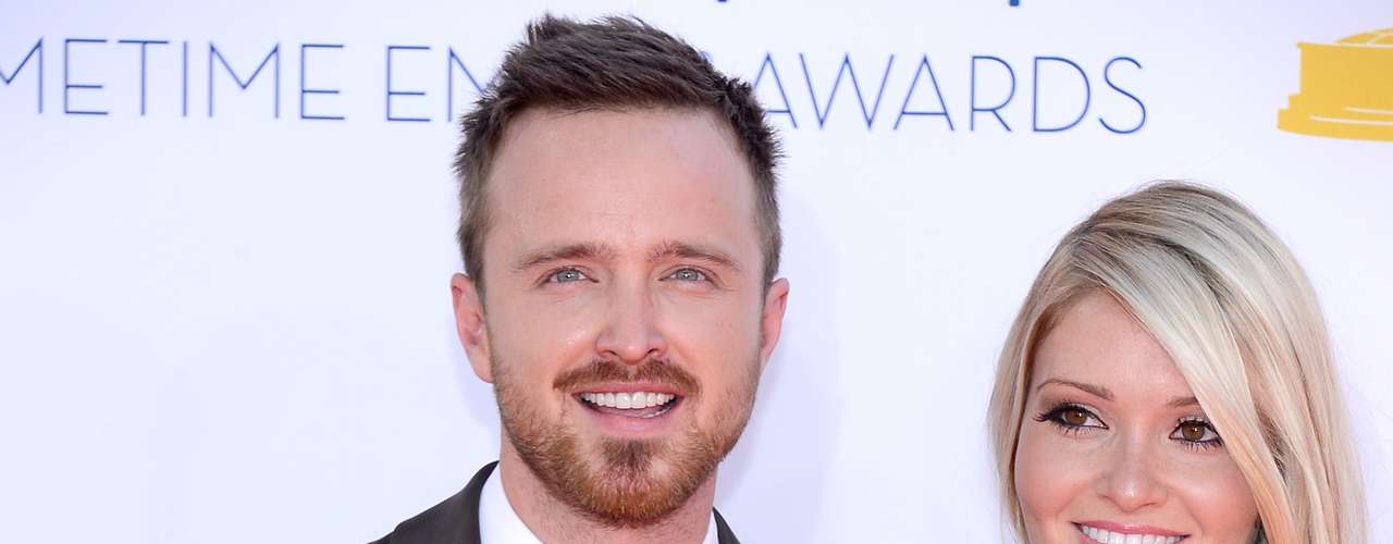 'Breaking Bad's' Aaron Paul recently proposed Lauren Parsekian in Paris. The happy couple attended the Primetime Emmy's together.