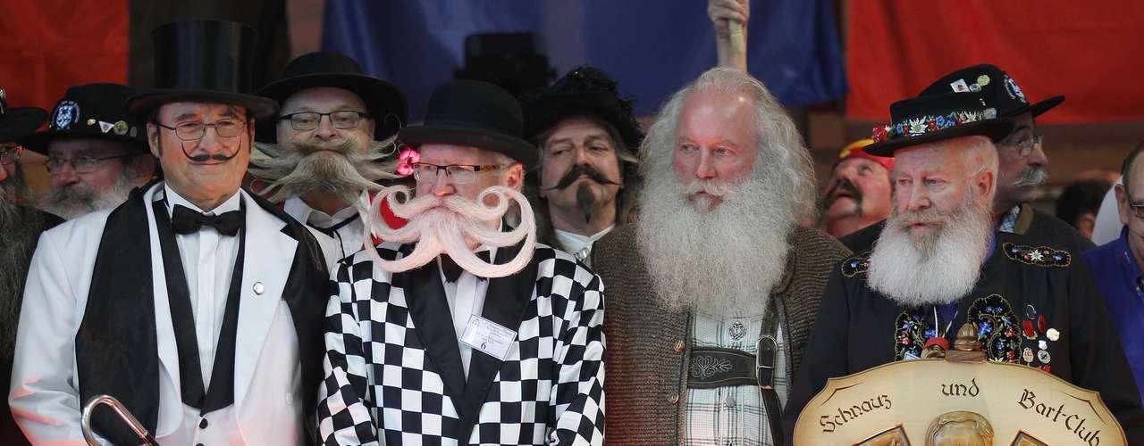 Barbas y bigotes de toda Europa se han concentrado en el localidad francesa de Wittersdorf para celebrar el concurso.
