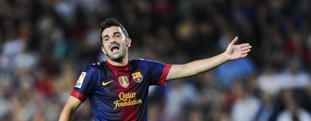 Villa no se ha pronunciado al respecto pero sí Messi. El argentino quiso aclarar en zona mixta que no tiene ningún problema con su compañero.