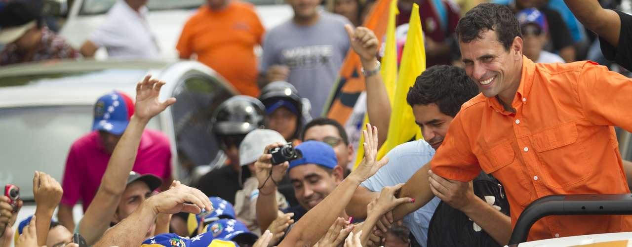 El candidato a la Presidencia de la alianza opositora de Venezuela, Henrique Capriles, dijo que tiene \