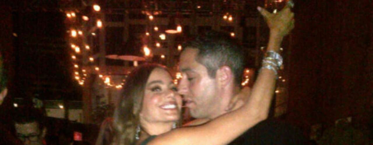 Sofía junto a Nick.